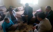 ENGELLİ ÖĞRENCİLER - Daday'da Evde Eğitim Gören Öğrenciler Karne Aldı