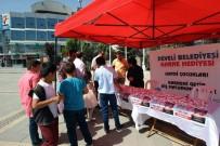 MUSTAFA AKSU - Develi Belediyesi Karne Hediyesi Dağıttı