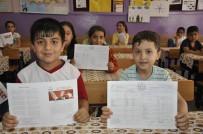 KİTAP OKUMA - Diyarbakır'da Halaylı Karne Sevinci