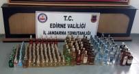 KAÇAK İÇKİ - Edirne'de Kaçak İçki Operasyonu