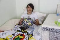 MUHARREM ERTAŞ - Engelli Genç Karne Heyecanını Evinde Yaşadı