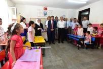 SELAHATTIN GÜRKAN - Gürkan Öğrencilerin Karne Heyecanına Ortak Oldu