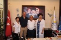 KAYALı - Hollandalı Oudshoorn Çiftinden Başkan Kayalı'ya Ziyaret