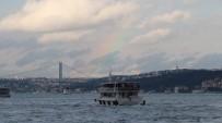 GALATA KÖPRÜSÜ - İstanbullulara Gökkuşağı Sürprizi