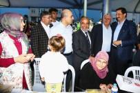 MUSTAFA AK - Keçiören Belediyesi Bademlik'te Ramazan Sofrası Kurdu