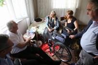 BÜYÜKDERE - Sabriye Teyzenin Tekerlekli Sandalye Mutluluğu