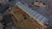 ORTODOKS KILISESI - Taksim Camii İnşaatında Son Durum Havadan Görüntülendi