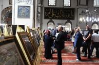 BURSA VALISI - Ulu Cami İçinde Tezhip Ve Hat Sergisi Açıldı