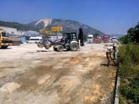VEZIRHAN - Vezirhan Yeni Sanayi Sitesi'nde Üst Yapı Çalışmaları Devam Ediyor