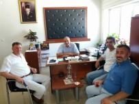 VEZIRHAN - Başkan Duymuş'tan İl Özel İdaresi'ne Ziyaret