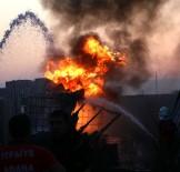SULUCA - Boya Fabrikasında Korkutan Yangın