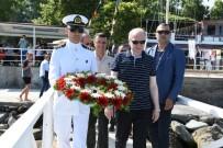 GENÇLİK VE SPOR İL MÜDÜRÜ - Deniz Şehitleri Anısına Hazırlanan Çelenk Denize Bırakıldı