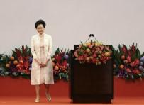PEKIN - Hong Kong'un Yeni Lideri Carrie Lam, Görevine Başladı