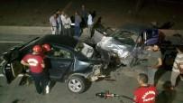 BALıKLıGÖL - İki Otomobil Çarpıştı Açıklaması 1 Ölü, 1 Yaralı