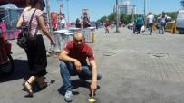 GEZİ PARKI - İstanbul'da Asfalta Yumurta Pişiren Sıcak