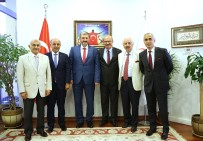 CEMİL ÇİÇEK - MÜSİAD Başkanı Kaan, ATO'yu Ziyaret Etti
