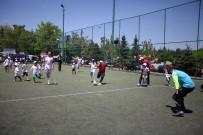 MİLLİ FUTBOL TAKIMI - Serebral Palsili Çocukların Futbol Müsabakası Heyecanı