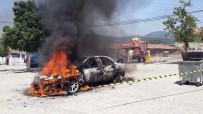 TRUVA - Ünlü Rallici Burcu Çetinkaya Bucak'ın Aracı Yandı