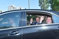 ÖZDEMİR ÇAKACAK - Vali Çakacak Mersin'e Veda Etti