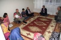 SEHİ ORMANLARI - Vali Ustaoğlu'ndan Şehit Ailesine Ziyaret