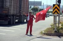 TAKSIM - 15 Temmuz Şehitleri İçin Ankara'ya Yürüyor