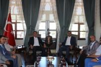 MEHMET METIN - AK Partililerden Vali Tekinarslan'a Hoş Geldin Ziyareti