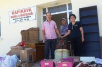 ZIHNI ŞAHIN - Bafra Umut Derneği Kapıkaya'ya Kütüphane Kurdu