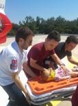 AMBULANS HELİKOPTER - Balkondan Düşen Bebeğin Yardımına Ambulans Helikopter Yetişti