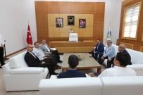 İRFAN BALKANLıOĞLU - Başkan Toçoğlu, Vali Balkanlıoğlu'nu Makamında Ağırladı