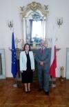 POLONYA - İş Dünyasından Polonya Ankara Büyükelçiliğine Ziyaret