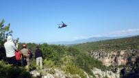 KURTARMA HELİKOPTERİ - Kanyonda Mahsur Kaldılar