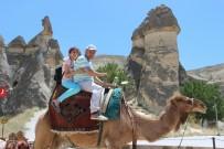 KAPADOKYA - Kapadokya'da Deve Turları Büyük İlgi Görüyor