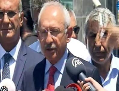 Kılıçdaroğlu, Berberoğlu'nu ziyaret etti