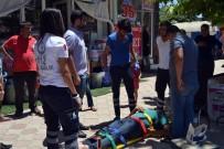 ELEKTRİKLİ BİSİKLET - Kozan'da Elektrikli Bisikletler Çarpıştı Açıklaması 2 Yaralı