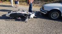 DEĞIRMENLI - Manavgat 'Ta Kaza 2 Yaralı