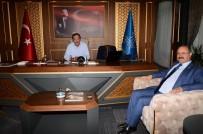 MİMARİ - Milletvekili Deligöz, Palandöken Belediyesini Ziyaret Etti