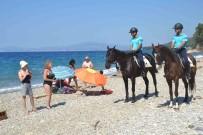 CAN GÜVENLİĞİ - Milli Parkta Serinleyenlerin Can Ve Mal Güvenliği Atlı Jandarma Timlerine Emanet