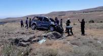 NIĞDE MERKEZ - Niğde'de Hafif Ticari Araç Takla Attı Açıklaması 1 Yaralı