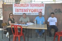 SAĞLIK MESLEK LİSESİ - Okullarının Kapanmasına Velilerden Tepki