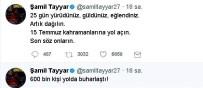 ŞAMİL TAYYAR - Şamil Tayyar'dan CHP'ye 15 Temmuz Göndermesi