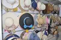 GÜNEŞLI - Şapka Satışları Arttı