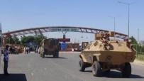 ÖNCÜPINAR - Sınırda Askeri Hareketlilik