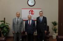 YUSUF ÖZDEMIR - Yargı Temsilcileri Vali Çakacak'ı Ziyaret Etti