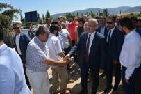 GENÇLİK VE SPOR İL MÜDÜRÜ - 15 Temmuz Şehidi Yasin Naci Ağaroğlu Mezarı Başında Anıldı
