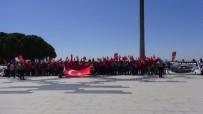 BÜLENT TURAN - 15 Temmuz Şehitleri Ve Çanakkale Şehitleri Törenle Anıldı