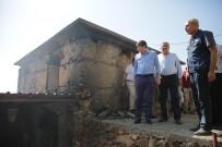 SOSYAL HİZMET - Alanya'daki Yangınzedelere Büyükşehir Yardım Elini Uzattı