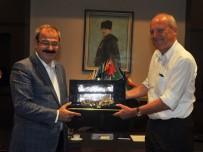 SANI KONUKOĞLU - Almanya Büyükelçilği Müsteşarından GSO'ya Ziyaret