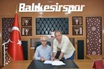 BALıKESIRSPOR - Balıkesirspor, Can Cangök İle Devam Edecek