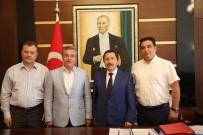 İRFAN BALKANLıOĞLU - Başkan Çetin'den Sakarya'ya Ziyaret