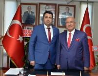GÖLGELI - Başkan Kocamaz'dan, MHP'nin Yeni İl Başkanı Gölgeli'ye 'Hayırlı Olsun' Ziyareti